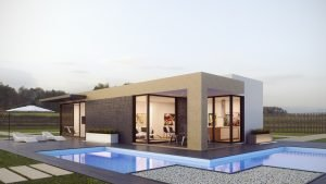 Casa Prefabricada lineada