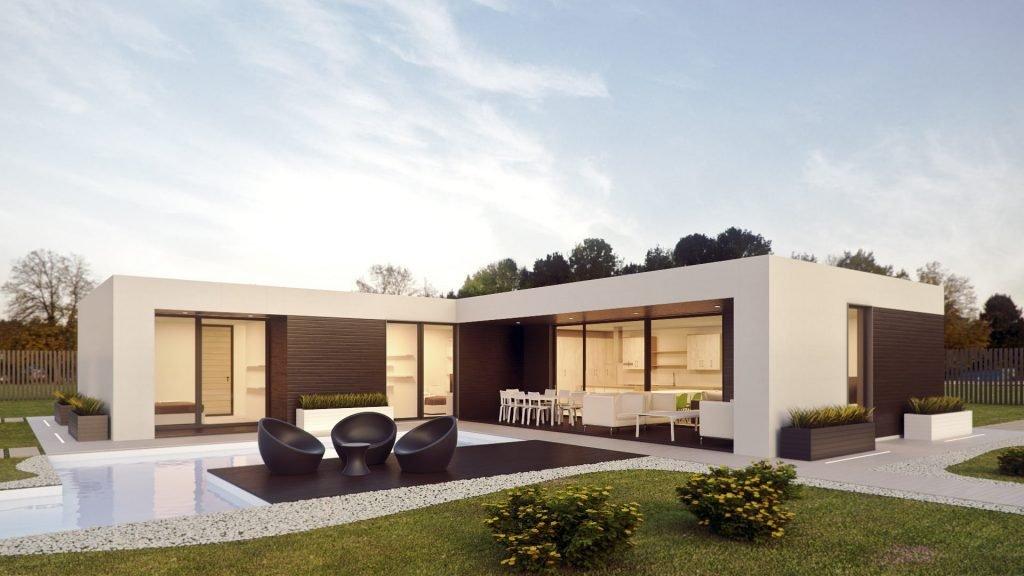 Modelo de Casa Prefabricada